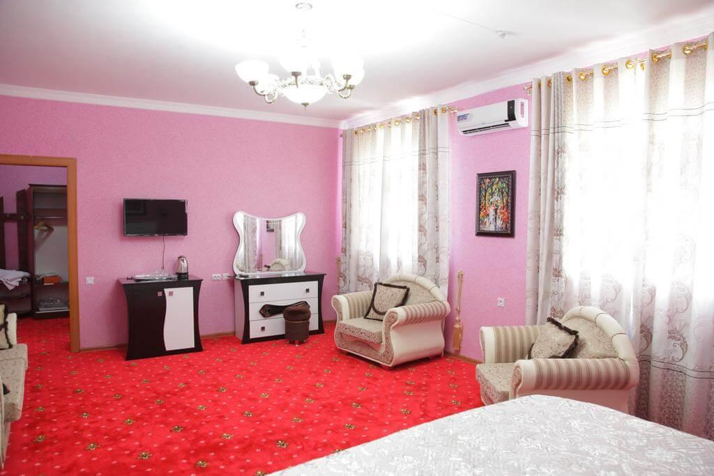 Гостиница Кибла Тозабог Хива дабл 8