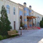 Гостиница Кибла Тозабог Хива фасад 2