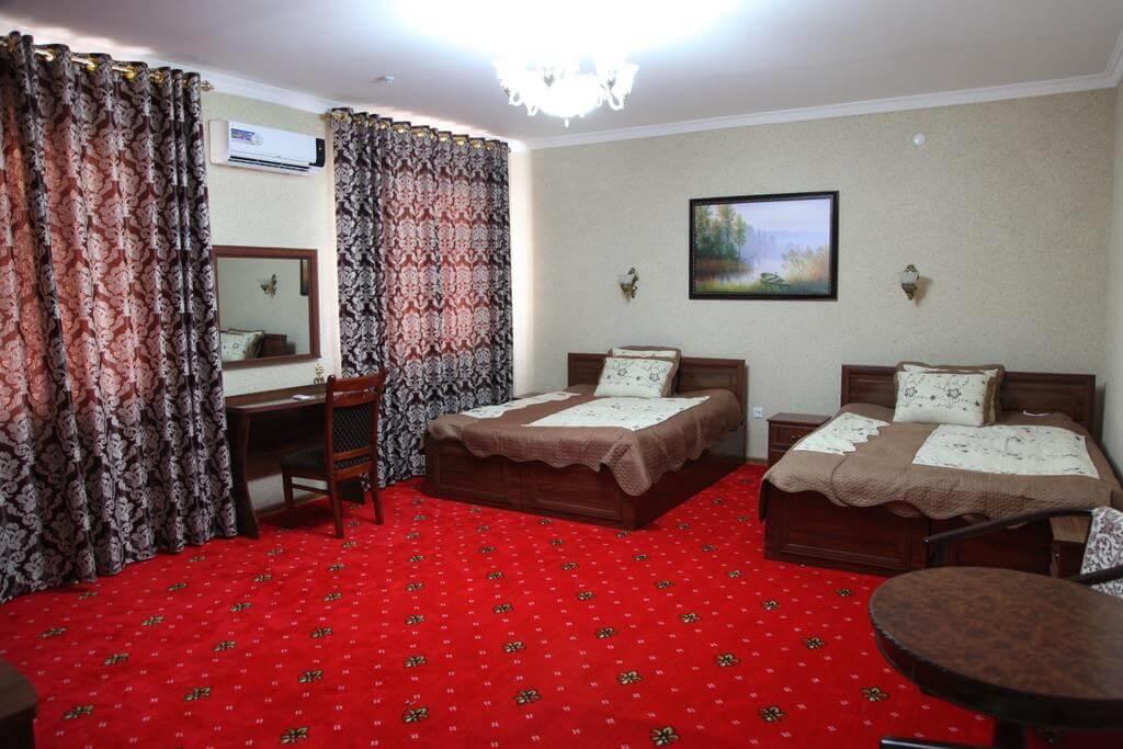 Гостиница Кибла Тозабог Хива твин 1