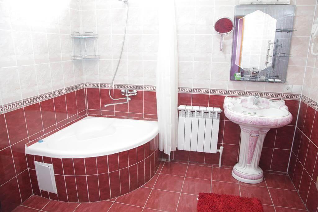 Гостиница Кибла Тозабог Хива ванная 2