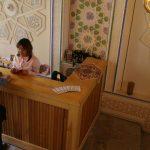 Гостиница Комил Бухара ресепшн