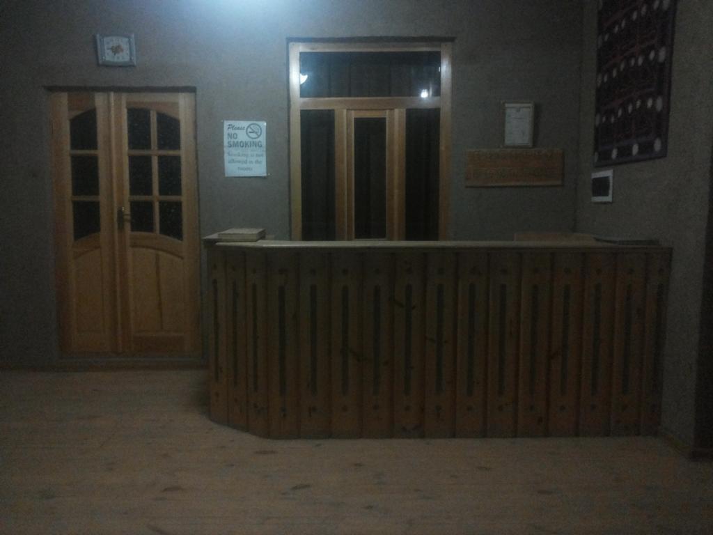Гостиница Кувончой Бону Хива ресепшн