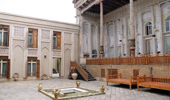 Гостиница Лаби Хавуз Бухара двор 1