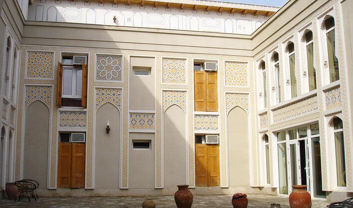 Гостиница Лаби Хавуз Бухара двор 2