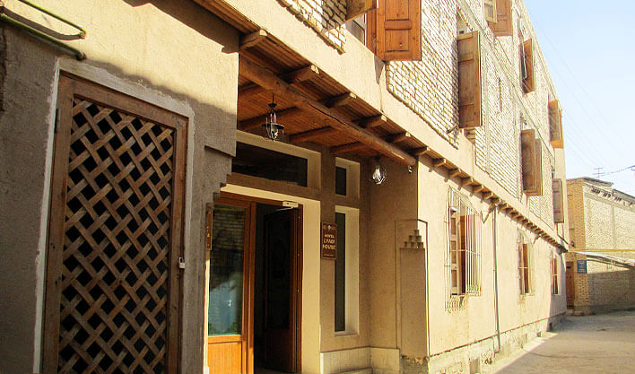 Гостиница Лаби Хавуз Бухара фасад