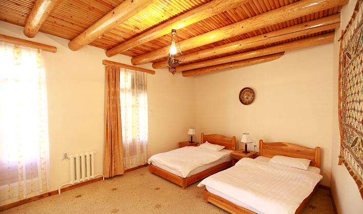 Гостиница Лаби Хавуз Бухара твин 1