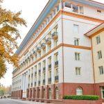 Гостиница Лотте Ташкент фасад