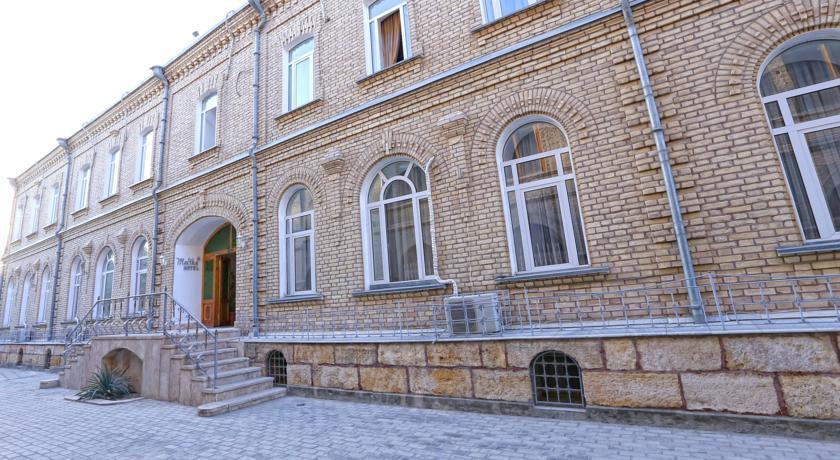 Гостиница Малика Бухара фасад