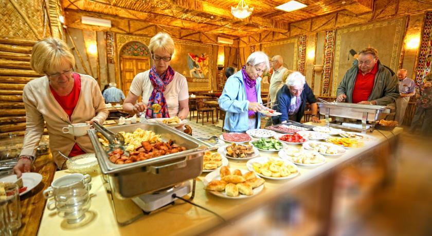 Гостиница Малика Бухара ресторан 1