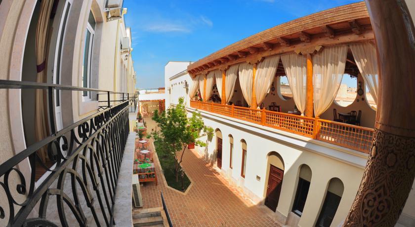 Гостиница Малика Бухара терасса 2