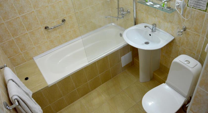 Гостиница Малика Бухара ванная 3