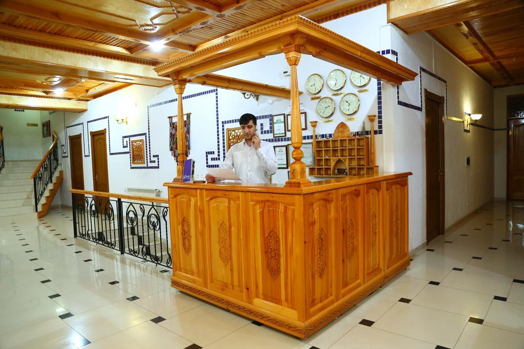 Гостиница Малика Прайм Самарканд ресепшн 2