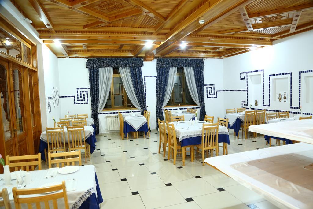 Гостиница Малика Прайм Самарканд ресторан 1