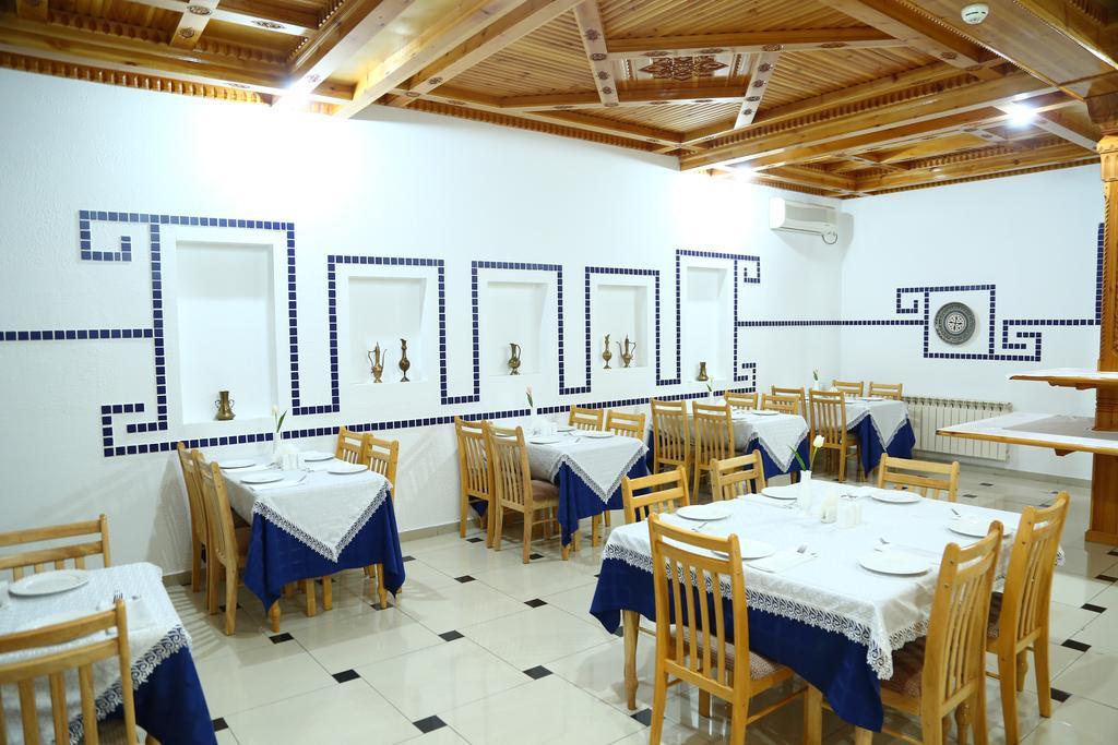 Гостиница Малика Прайм Самарканд ресторан 3