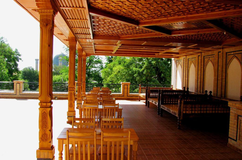 Гостиница Малика Прайм Самарканд ресторан 4