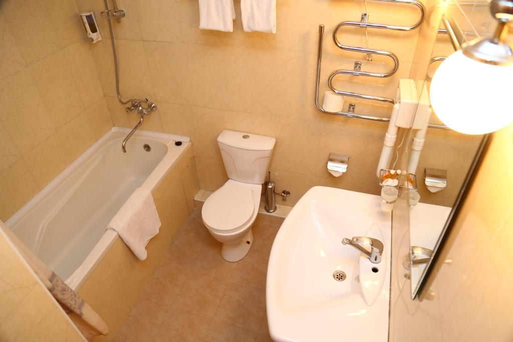 Гостиница Малика Прайм Самарканд ванная 1