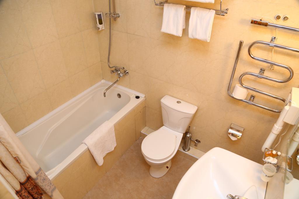 Гостиница Малика Прайм Самарканд ванная 2