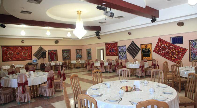 Гостиница Меридиан Термез ресторан 3