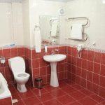 Гостиница Меридиан Термез ванная