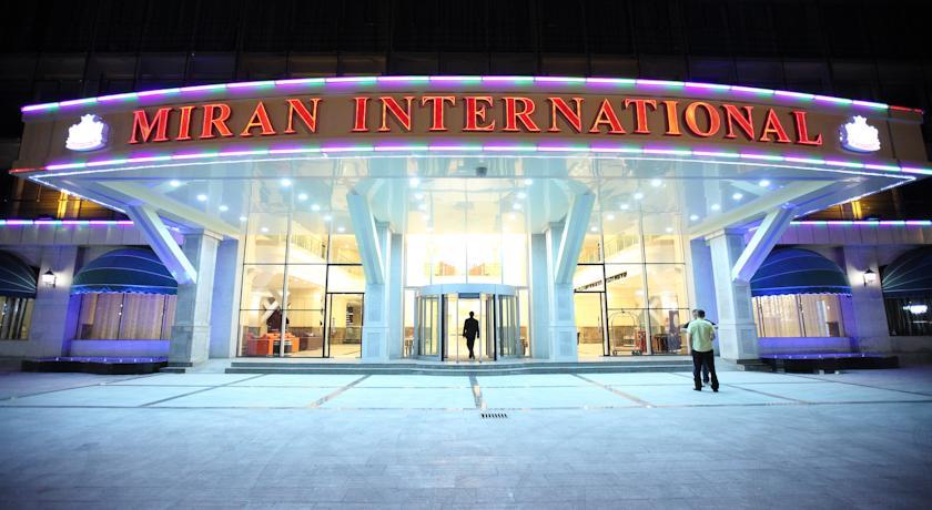 Гостиница Миран Интернатионал Ташкент фасад 1