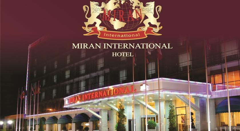 Гостиница Миран Интернатионал Ташкент фасад 2