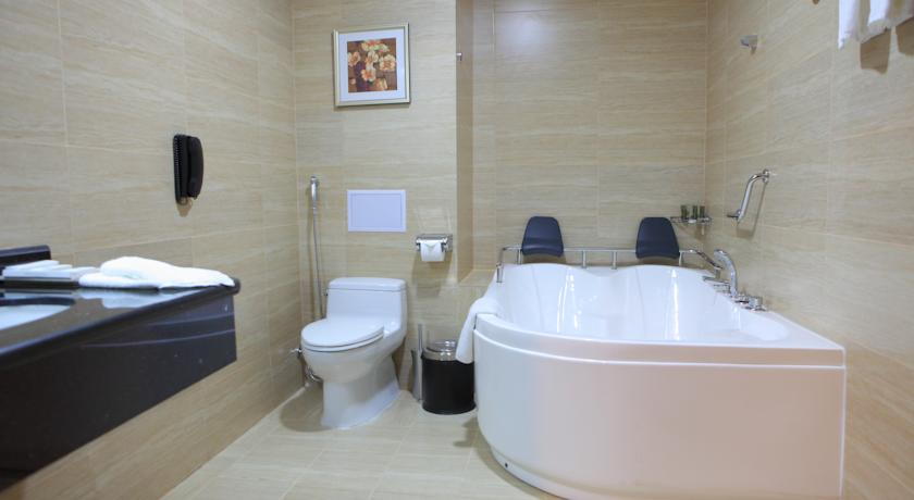 Гостиница Миран Интернатионал Ташкент ванная 1