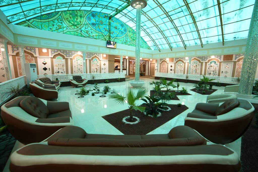 Гостиница Модарихон Бухара холл 1