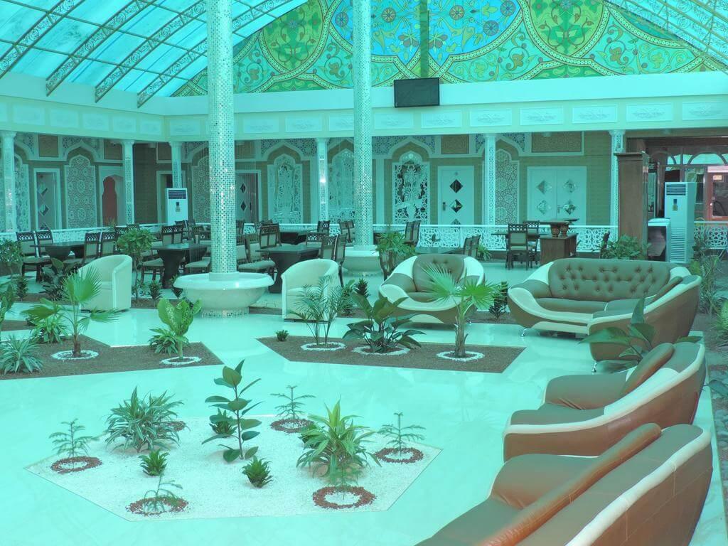 Гостиница Модарихон Бухара холл 5