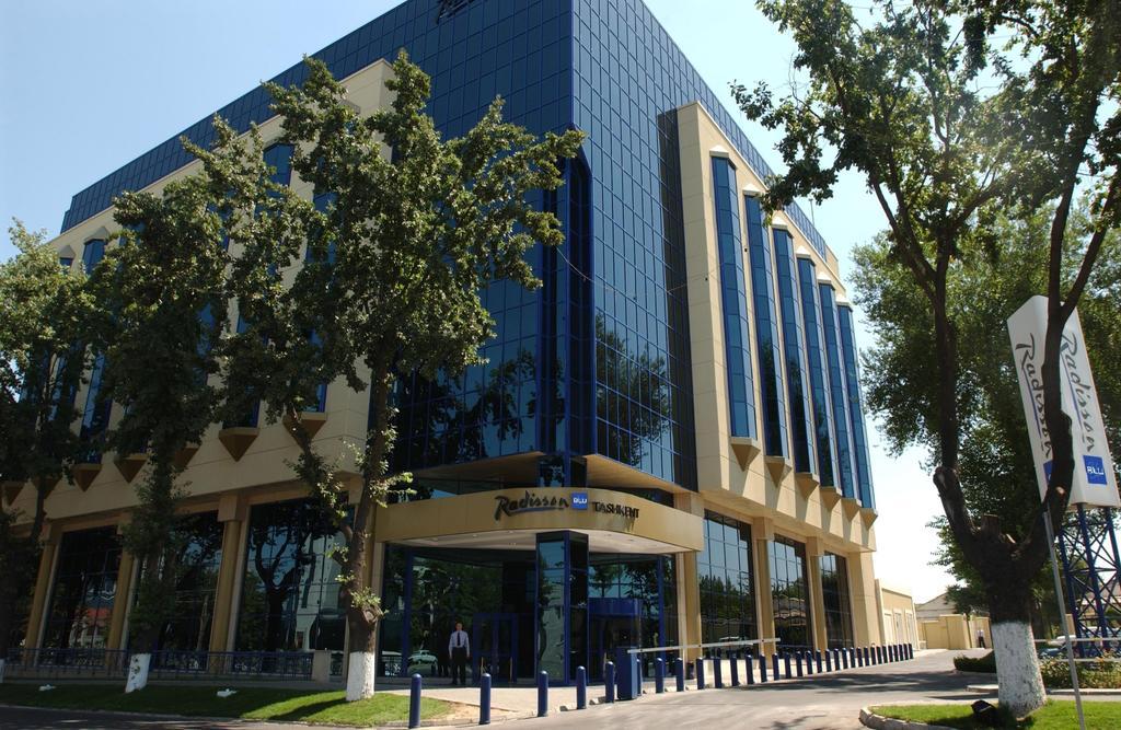 Гостиница Радиссон Ташкент фасад