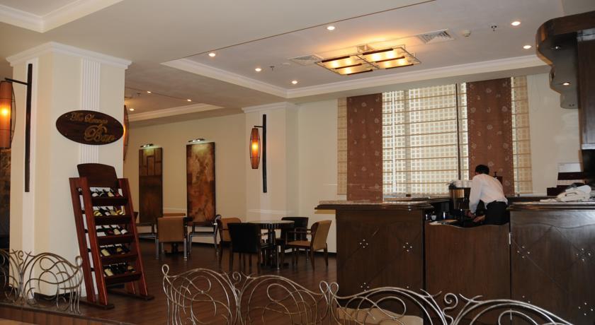 Гостиница Рамада Ташкент бар 4