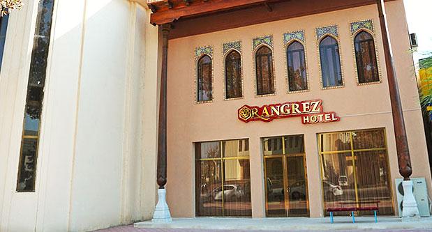 Гостиница Рангрез Бухара фасад