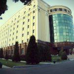 Гостиница Регистан Плаза Самарканд фасад 1