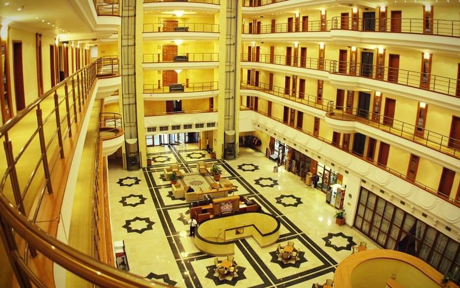 Гостиница Регистан Плаза Самарканд холл 1