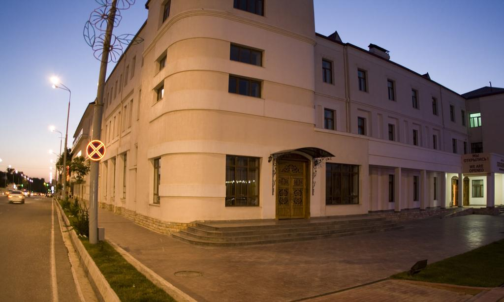 Гостиница Регистан Самарканд фасад 2