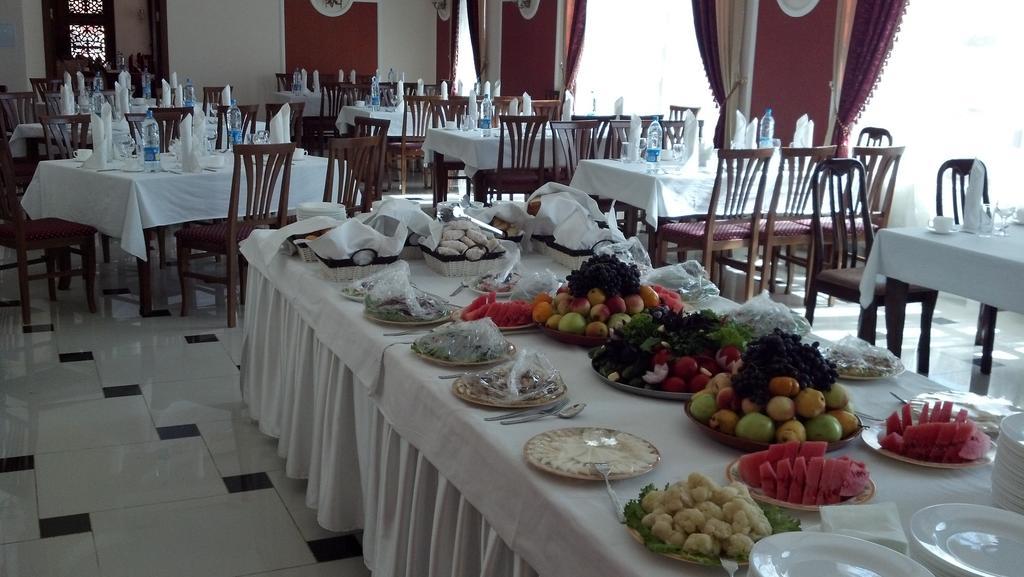 Гостиница Регистан Самарканд ресторан 2