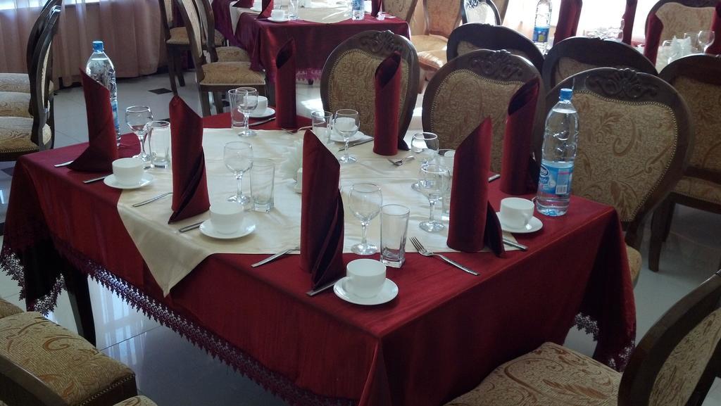 Гостиница Регистан Самарканд ресторан 3