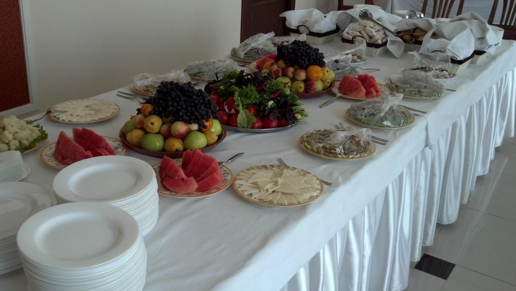 Гостиница Регистан Самарканд ресторан 4