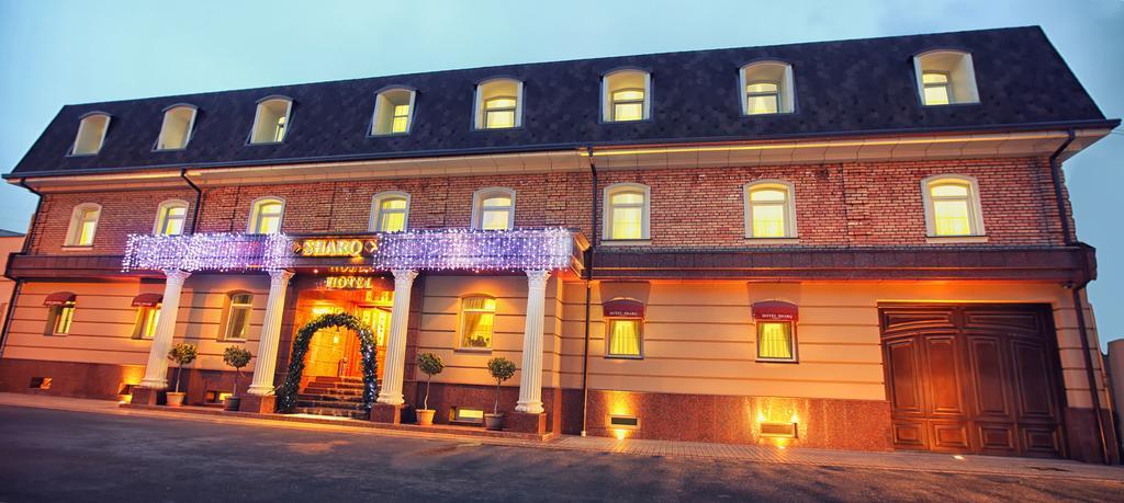 Гостиница Шарк Ташкент фасад 1