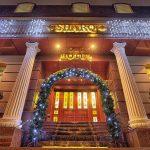 Гостиница Шарк Ташкент фасад 2