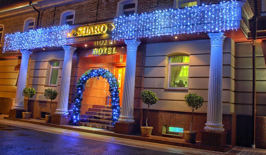 Гостиница Шарк Ташкент фасад 3