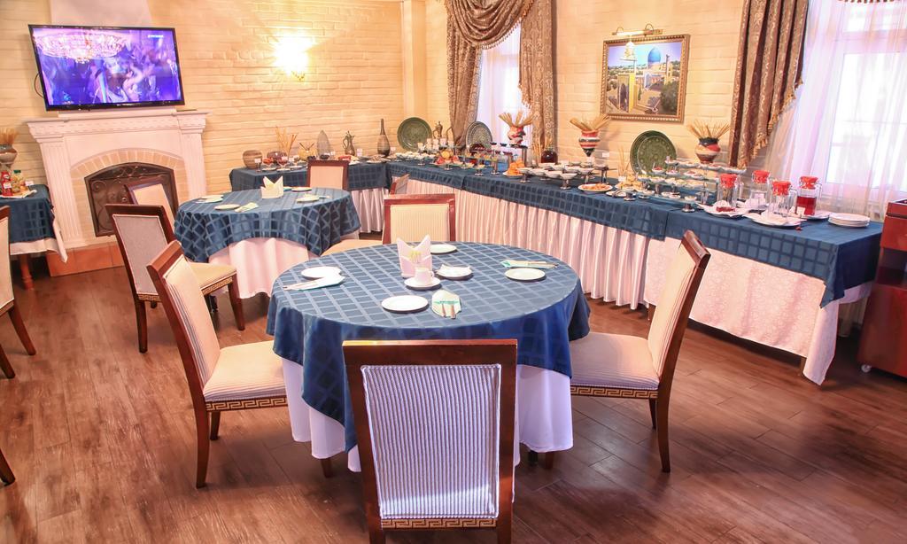 Гостиница Шарк Ташкент ресторан 6