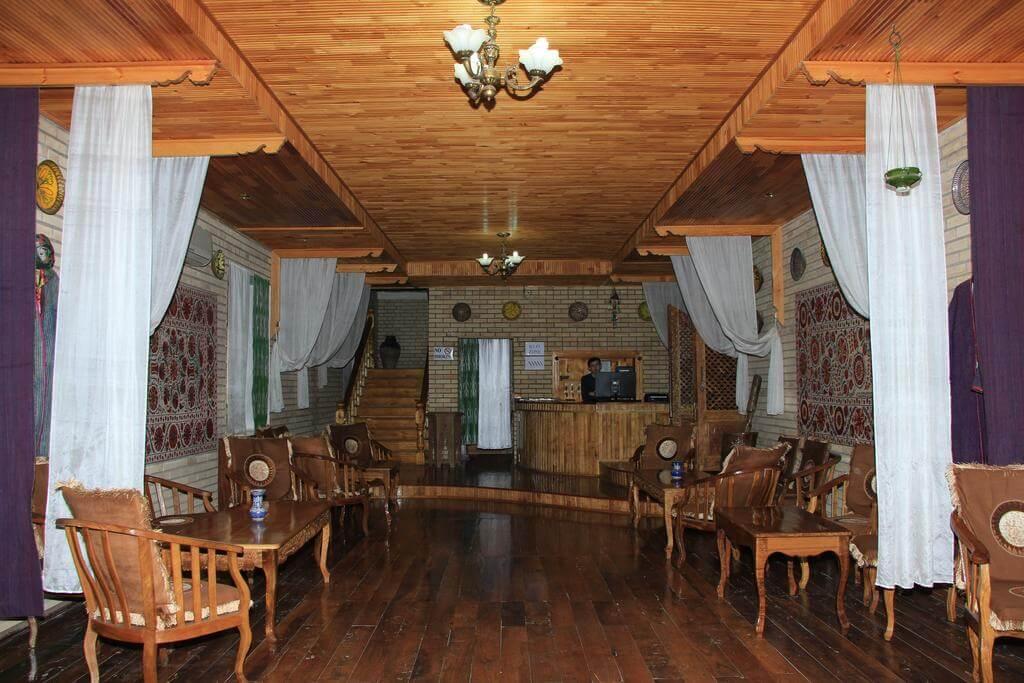 Гостиница Шахерезада Хива ресепнш