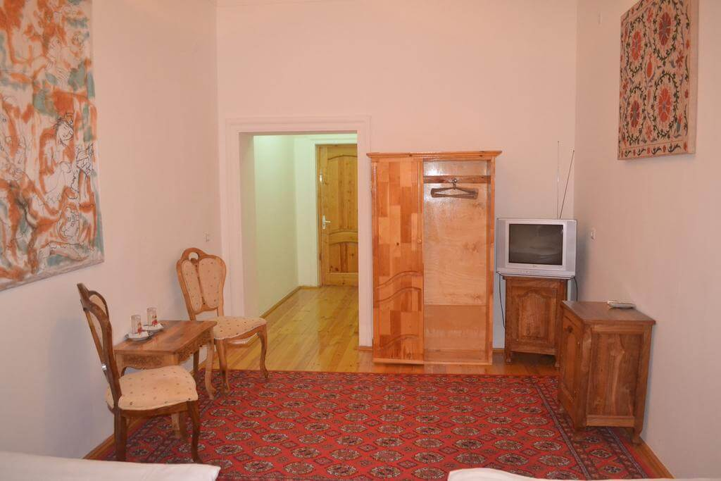 Гостиница Шахерезада Хива твин 1