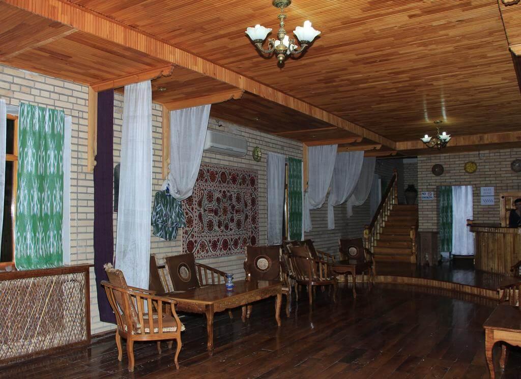 Гостиница Шахерезада Хива холл
