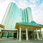 Гостиница Сити Палас Ташкент фасад 1