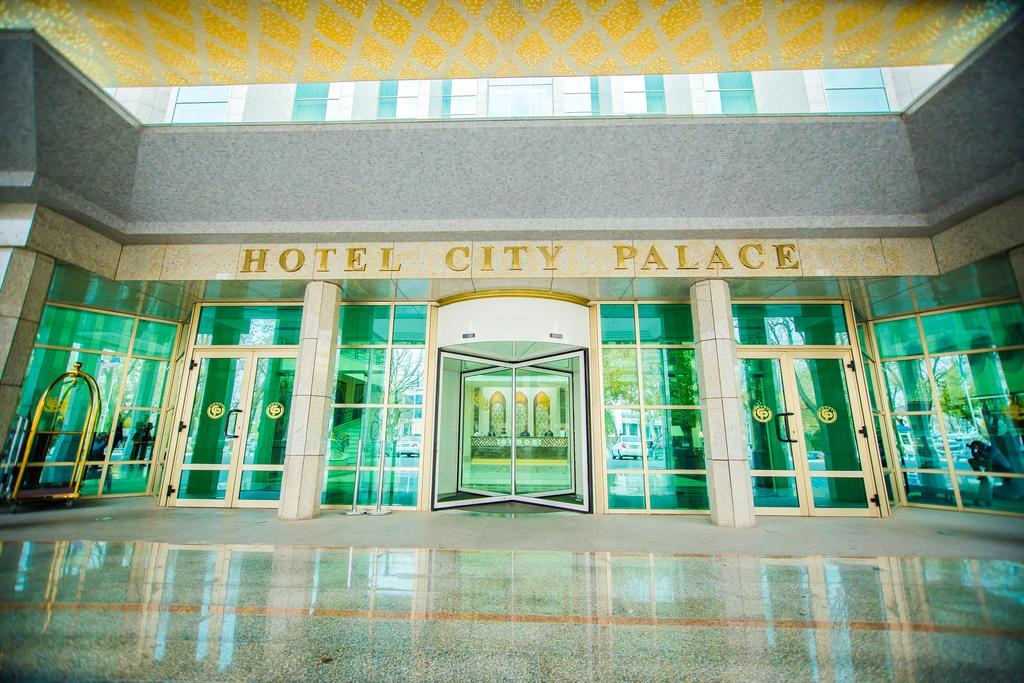 Гостиница Сити Палас Ташкент фасад 2
