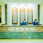 Гостиница Сити Палас Ташкент ресепшн 1