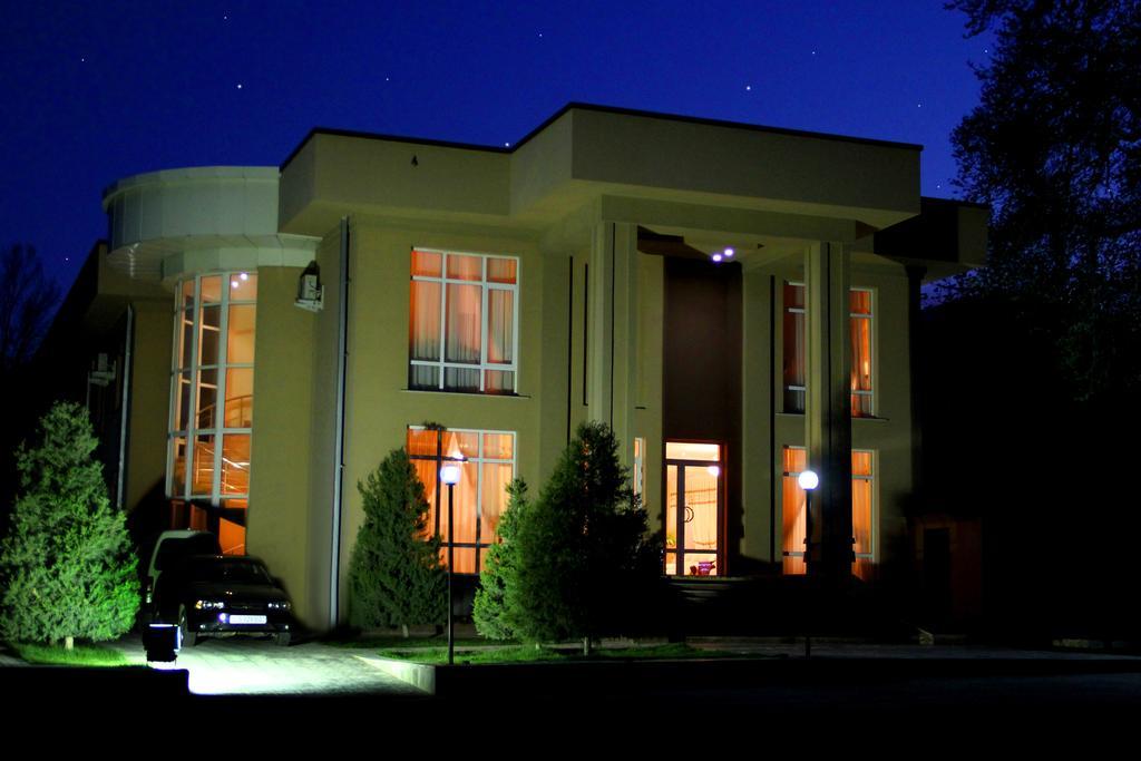 Гостиница Сити Самарканд фасад 1