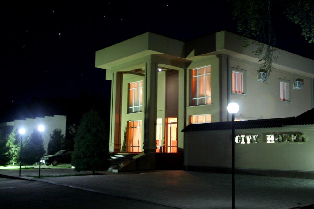 Гостиница Сити Самарканд фасад 2