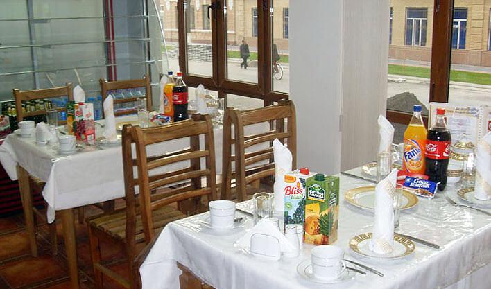 Гостиница Хан Коканд ресторан